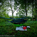 UK Hammock Camping| DD Hammocks | Road trip