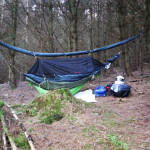 Hammock camping in Wales