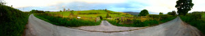 Lost in Wales Panorama