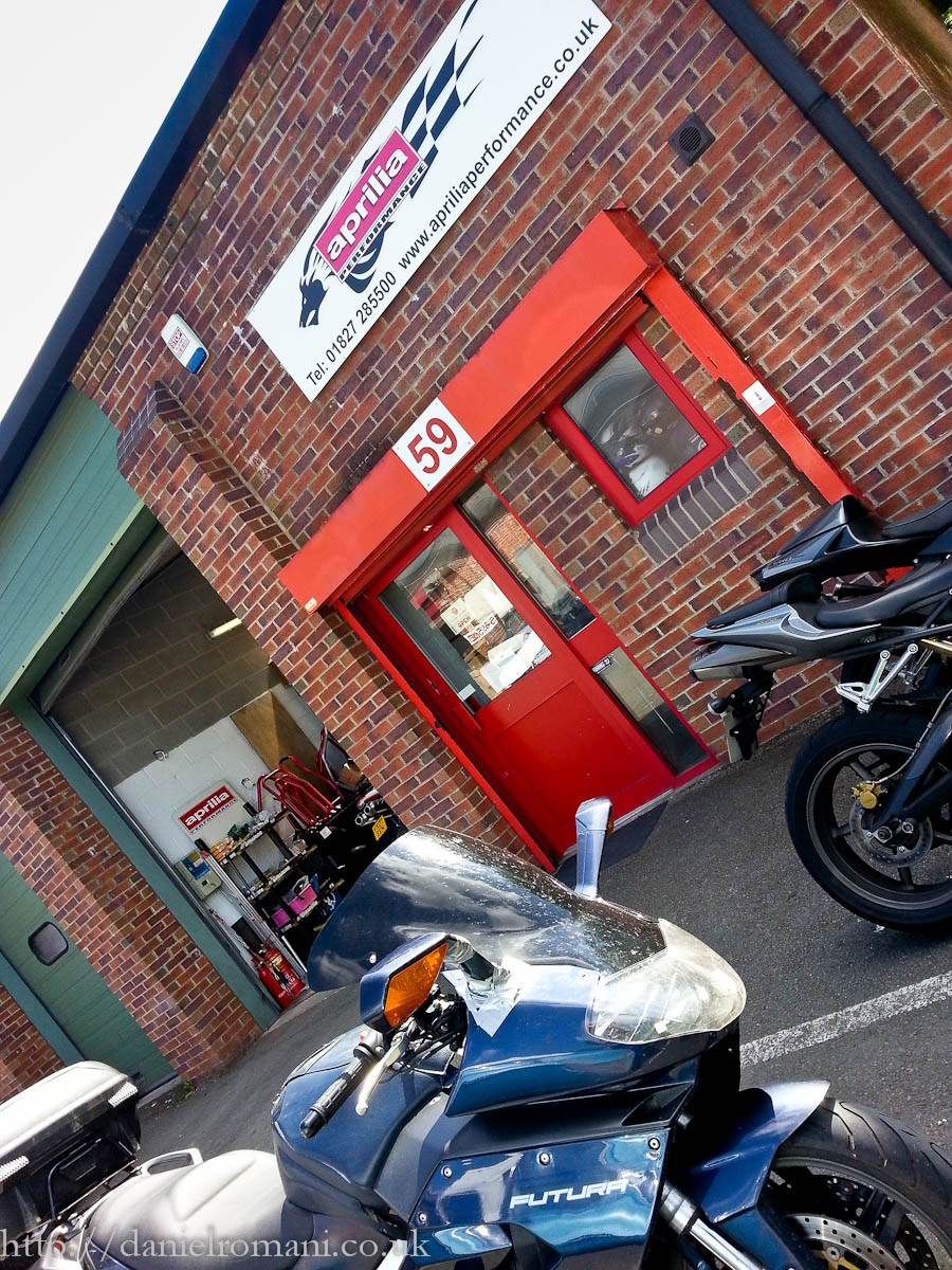 Aprilia Services, Tamworth